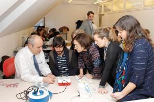 Asistentes al curso sobre Endodoncia actual en Pamplona.