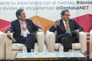 El Dr. Victoriano Serrano, junto a José Luis del Moral.