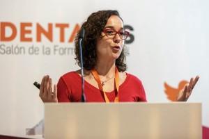 Leonor Martín Pero-Muñoz destacó la labor de los colegios profesionales en la formación del higienista dental.
