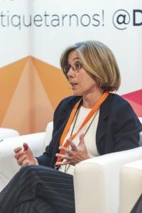 La Dra. Paola Beltri, vicepresidenta de la SEOP.