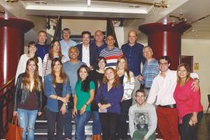 Foto de familia de los participantes en el curso sobre DSD.