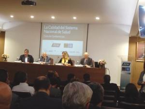 La conferencia se celebró en la sede de Prevención Sanitaria Nacional (PSN), en Madrid.