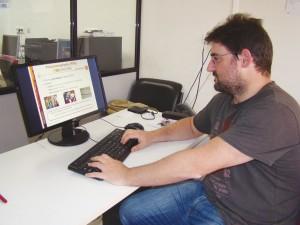 Gonzalo Gutiérrez, investigador del Grupo de Ingeniería Biomédica de la Universidad de Valladolid.
