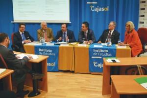 Participantes en la reunión andaluza organizada por la Unión de Consumidores de Andalucía.