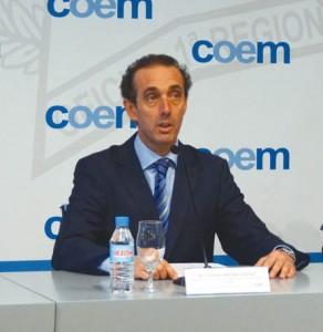 Dr. Antonio Montero, presidente del Colegio de Dentistas de la I Región.