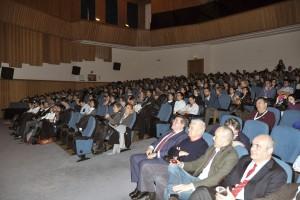 Auditorio del Complejo Duques de Pastrana de Madrid durante la celebración del XIII Simposio de AEDE.