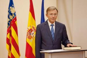 Dr. Enrique Llobell, presidente del Colegio valenciano.