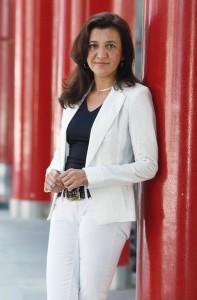 María José Sánchez, directora de Expodental, en Ifema.