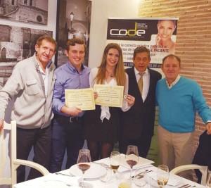 Entrega de diplomas en Soria.