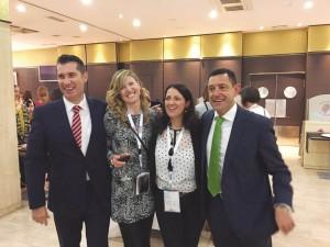 Los doctores Gerardo Gómez y José Luis Calvo, ponentes en el congreso, fueron nombrados socios de honor de Hides Castilla y León por decisión unánime de su junta de gobierno.