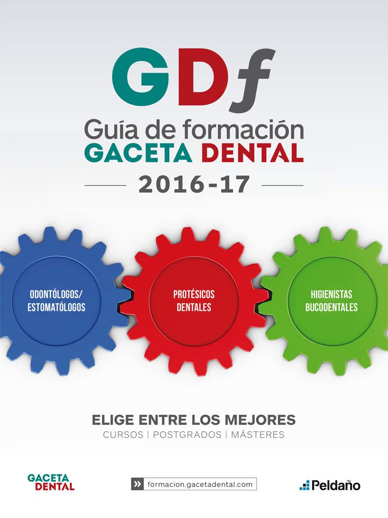 Guía de formación Gaceta Dental. 2016-2017