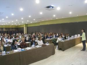 Vista de la sala en la intervención de Martín-Rubio.