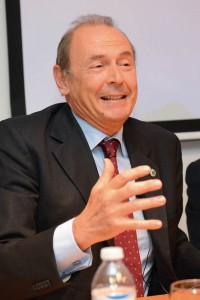 El Dr. Francisco Rodríguez Lozano, presidente de la Red Europea de Prevención del Tabaquismo.