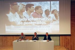 De izda. a dcha., José Carlos de la Macorra, Antonio Montero y Eugenio Grano de Oro.