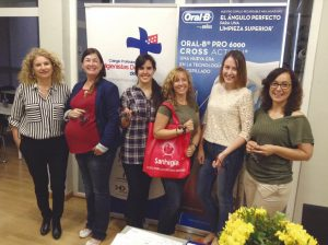 Sol Archanco, presidenta del CHDM; Mar Romero; Susana Cano; Arantxa Hidalgo; Patricia González; y Leonor Martín-Pero, vicepresidenta y responsable de Formación del CHDM.