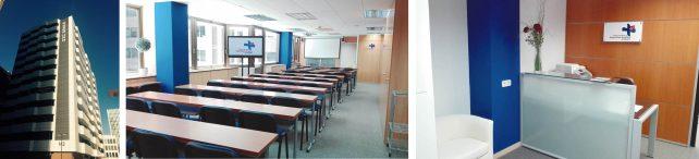 Imágenes de la nueva sede del Colegio de Higienistas Dentales de la Comunidad de Madrid.