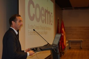 El Dr. Antonio Montero, presidente del COEM