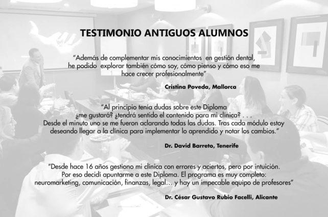 TESTIMONIOS ANTIGUOS ALUMNOS 2