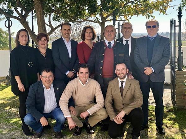 Nuevo equipo del Colegio de Dentistas de Cádiz