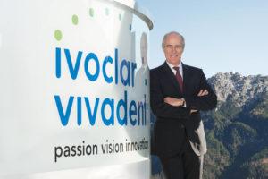 Robert Ganley, CEO de Ivoclar Vivadent.