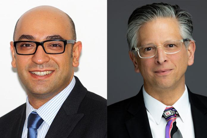 Los autores del estudio Alireza Moshaverinia y Paul Weiss.