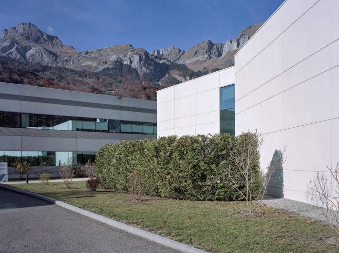 Sede de Anthogyr en Sallanches, Francia.