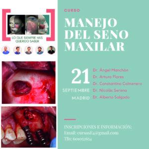 Curso de elevación de seno / manejo del seno maxilar @ Hotel NH Paseo de la Habana | Madrid | Comunidad de Madrid | España