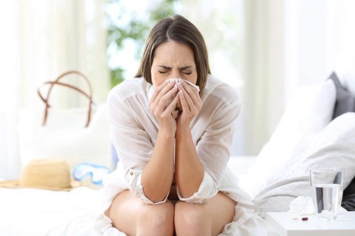 Resfriado dolor dientes