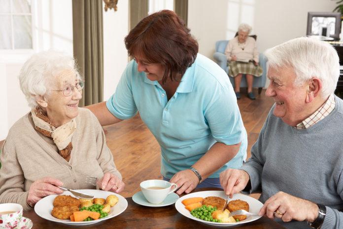 Personas mayores salud oral
