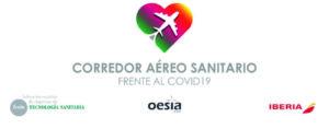 Logos Corredor Aéreo Sanitario.