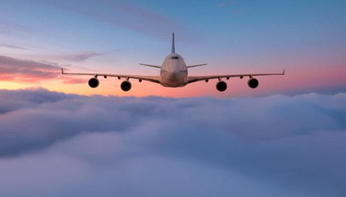 Corredor aéreo China-España.