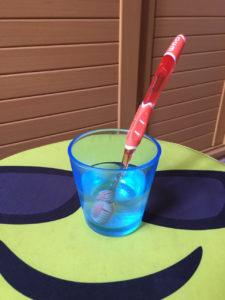 Limpieza de cepillo dental.