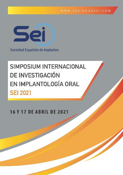 Cartel Simposium Internacional de Investigación en Implantología Oral 2021