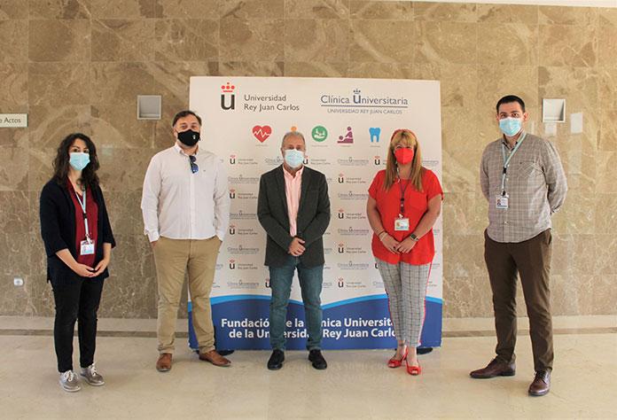 Acuerdo de colaboración Fundación AMÁS y la Clínica Universitaria Rey Juan Carlos