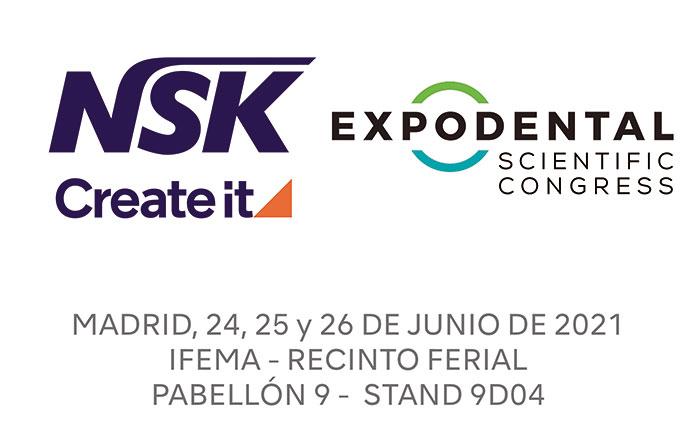 NSK estará presente en Expodental Scientific Congress 2021