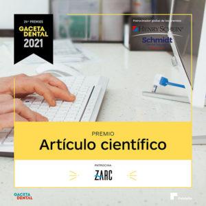 Premio GD 2021 Artículo Científico
