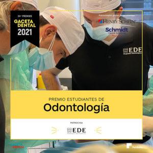 Premio GD 2021 Estudiantes de Odontología