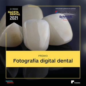 Premio GD 2021 Fotografía Digital Dental