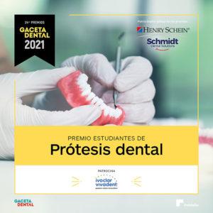 Premio GD 2021 Estudiantes de Prótesis Dental