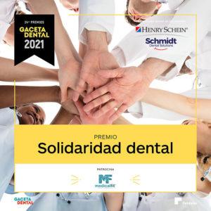 Premio GD 2021 Solidaridad Dental