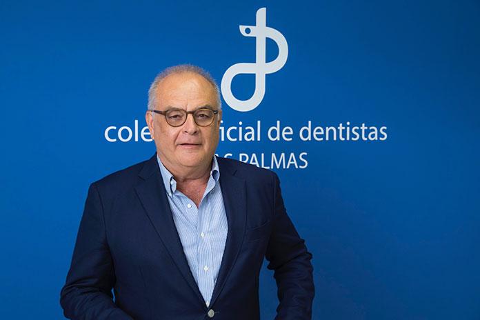 Francisco Cabrera Panasco, presidente del Colegio de Dentistas de Las Palmas
