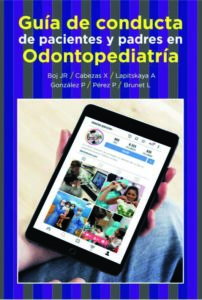 """Portada """"Guía de conducta de pacientes y padres en Odontopediatría"""""""
