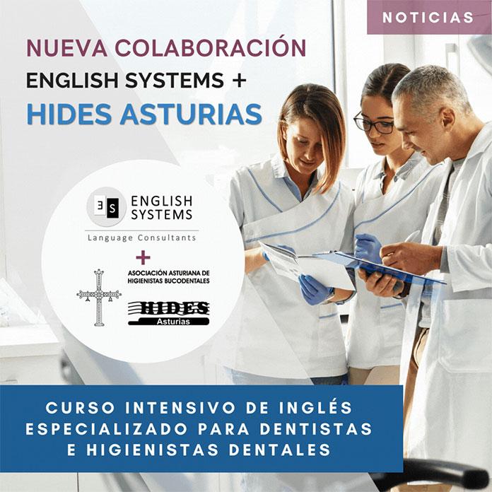 Formación de inglés para los higienistas dentales asturianos