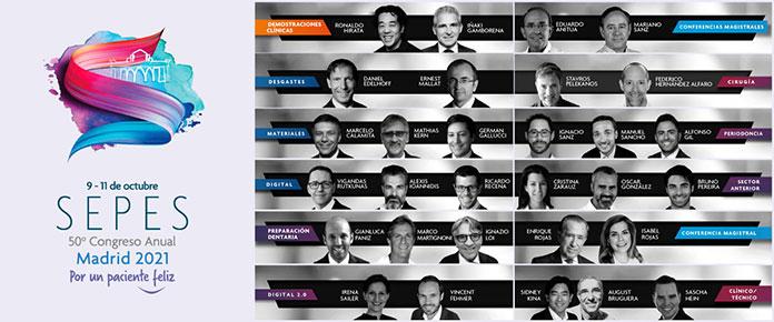 Ponentes de SEPES Madrid 2021