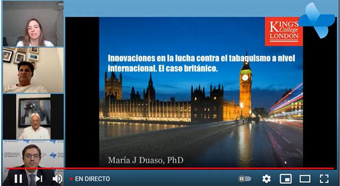 Congreso Tabaquismo perspectivas médicas y nuevos avances