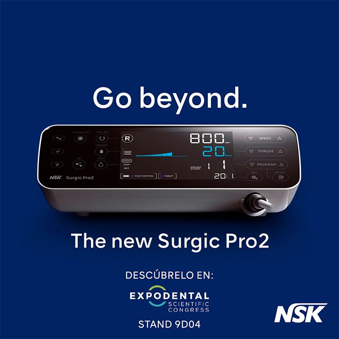 NSK presenta el nuevo micromotor quirúrgico Surgic Pro2