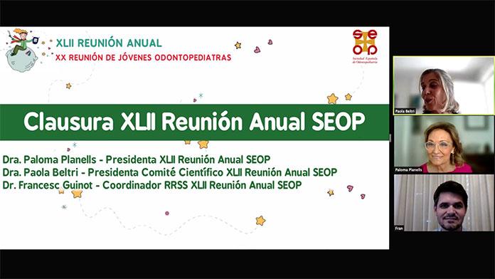 XLII Reunión Anual de la Sociedad Española de Odontopediatría