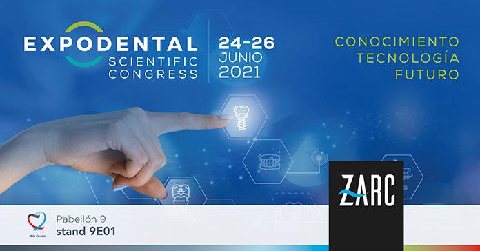 Zarc4endo estará presente como expositor en Expodental Scientific Congress 2021
