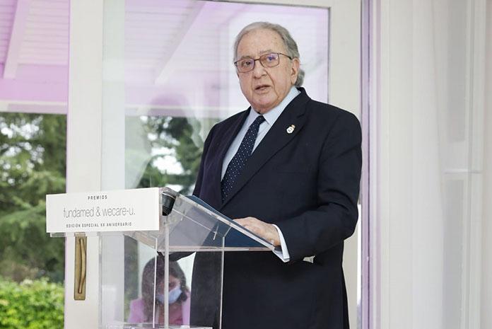Fundamed reconoce a la Fundación A.M.A. con un Premio Especial 2021 por su compromiso con la Sanidad