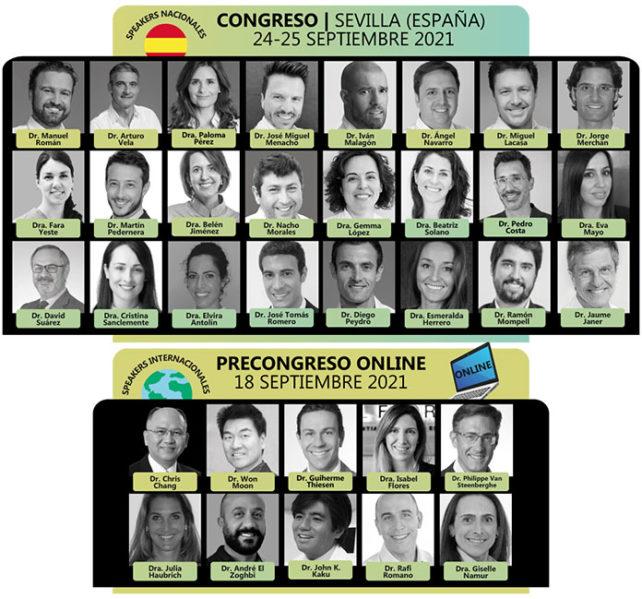 Ponentes del VI Congreso SEDA